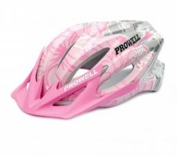 Capacete ciclismo prowell rosa