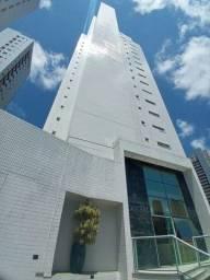 Título do anúncio: Apartamento para alugar no Cabo Branco a poucos metros da praia com 3 quartos e 2 vaga de