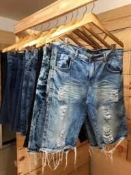 Título do anúncio: Bermuda jeans R$ 40,00 cada