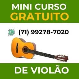 (gratuito)  Mini curso de violão