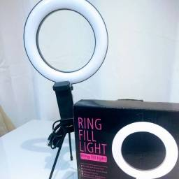 Ring Light Led Mesa 16cm promoção