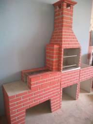 Formas para construir churrasqueiras