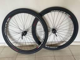 Título do anúncio: Rodas com pneus aro 29