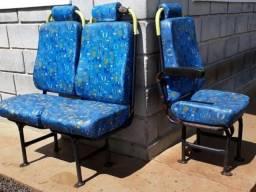 Bancos do passageiro ônibus Caio Apache VIP / S21