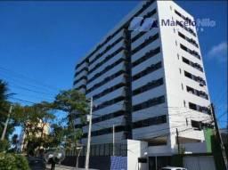 Apartamento 50m2, 2 quartos, 1 suíte, varanda, lazer completo e com móveis fixos novos