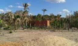 Terreno 800m² em Nazária com casa no ponto de radier