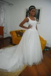 Vestido noiva lindo usado