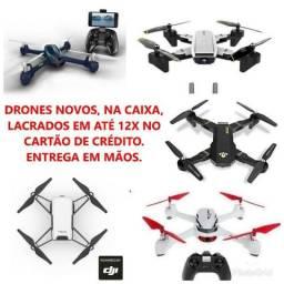 Drones em ATÉ 12x no Cartão de Crédito