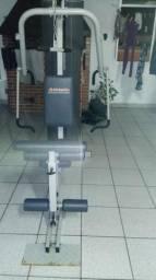 Academia de musculação atletic