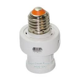 Soquete E27 Com Sensor Fotocélula Automático Microcontrolado -novo