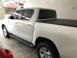 Toyota Hilux Srv Aut. Flex 2017 Único Dono com 22.000 km Original , Couro - 2017