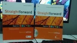 Livros StraightForward Student's Book + WorkBook + CD (Cultura Inglesa)