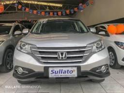 Honda CR-v LX 2.0 Automática Unica Dona - Baixa Km SUV barato Transferencia Gratis - 2012