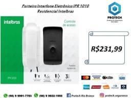 Kit Interfone Residencial Porteiro Eletrônico Intelbras