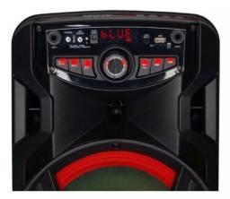Caixa Som Amplificada Bluetooth Aca 185 New X Novo Modelo