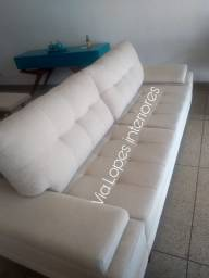 Sofa larissa fixo sobre medidas aqui na Via Lopes 62 9  *