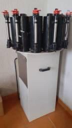 Maquina de tintas manual tintomatic 12 canisters
