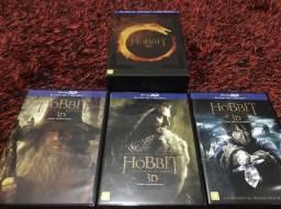 Blu-ray Trilogia O Hobbit 3D comprar usado  São Paulo