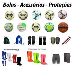 Bolas e Equipamentos  de Proteção