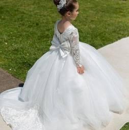 Vestidos para dama de honra noivinhas floristas sob medidas