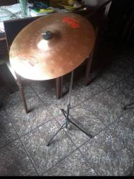 Prato Orion Cymbals + tripé