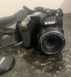 Câmera Nikon semi profissional (Único dono)