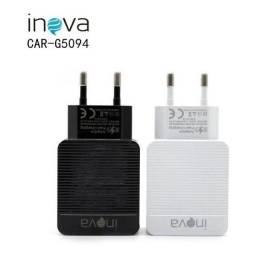 7924 - Carregador Rápido USB C/ Cabo V8 15W Inova CAR-5094