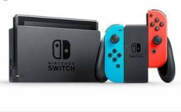 Nintendo Switch lacrado + jogo + case