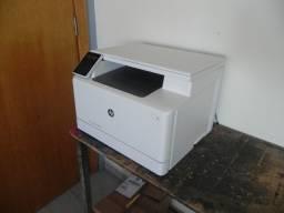 Impressora HP M180nw Color Laser Jet Pro - Ideal p/ Transfer Laser e Escritório