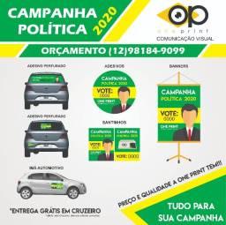 Material para campanha política