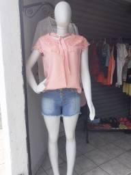 Blusa/ short