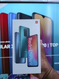 Saldão imperdível..Redmi Note 9 128 da Xiaomi - NOVO-  Lacrado com Garantia e Entrega