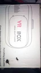 VR Box virtual reality glasse bluetooth remote controller e com manual r$ 300