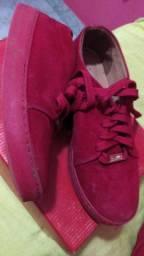 Tênis Vizzano vermelho