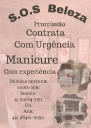 Título do anúncio: Contrata manicure