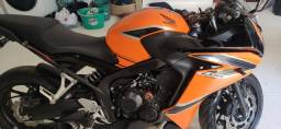 Título do anúncio: Moto Honda CBR 650 F 1450km