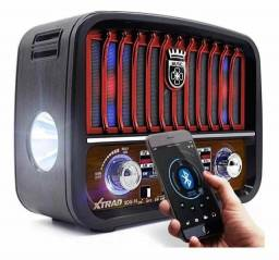 Título do anúncio: Radio portátil retrô (Bluetooth, Antena e Laterna) 1200W