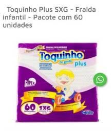 Título do anúncio: Fralda Toquinho
