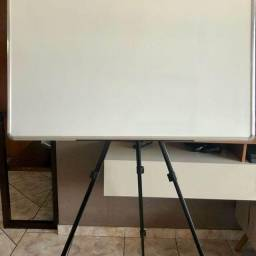 Título do anúncio: Quadro Branco 100x70 Cm Moldura Aluminio + Tripé + Apagador + 2 canetas
