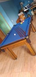 Título do anúncio: Mesa Tentação Tecido Azul mdf Mod. 227CM7VH