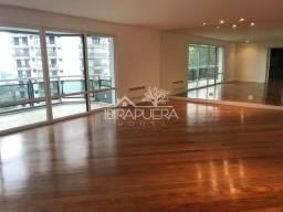 Título do anúncio: Apartamento de 337m² com 4 suítes e 3 vagas para locação, Alto da Boa Vista, São Paulo, SP