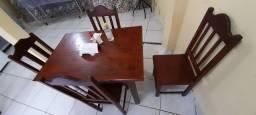 Mesa e cadeira pra restaurante