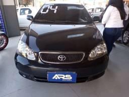 Corolla XEI 1.8 2004 AT + GNV + transferência. Entrada + parcelas de 487