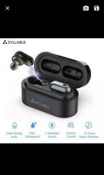 Título do anúncio: Fone de Ouvido Bluetooth Syllable s101 Aptx Novo