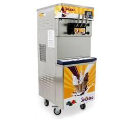 maquina de sorvete expresso com conservação noturna