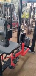 Máquina musculação abdutora