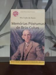 Livro Memórias Póstumas De Brás Cubas | Editora Avenida | Usado