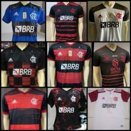 Título do anúncio: Camisas do Flamengo vários modelos