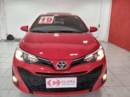 Título do anúncio: TOYOTA YARIS XLS 1.5 2019 AUTOMÁTICO TETO SOLAR 16.900KM GARANTIA DE FÁBRICA