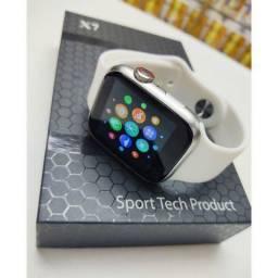 Título do anúncio: X7 Smartwatch Atualizado / Poe foto na tela / Atende e Realiza ligações 44mm BRANCO